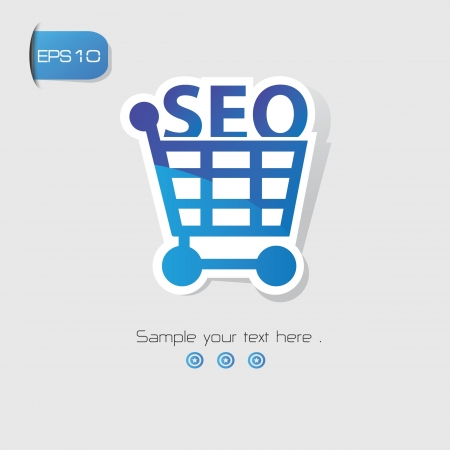 SEO Marketing symbol,vector Vector