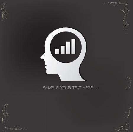 Analysis ideas symbol Vector