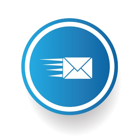 mail marketing: Send email symbol