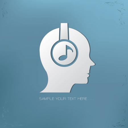 music symbol: Music symbol Illustration