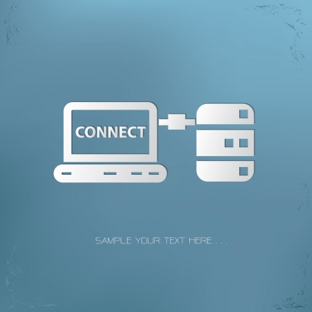 Connection sign,vector Stock Vector - 21283643