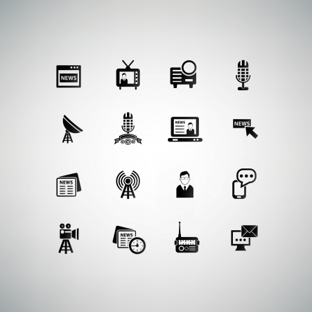 Communication icons,vector Stock Vector - 21283644