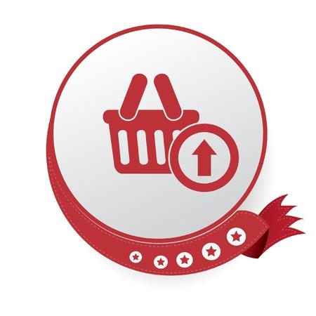 Shopping symbol,vector Vector