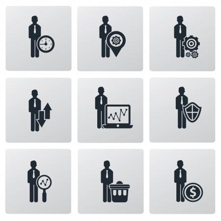 Human resource,Business concept,vector Stock Vector - 21283396