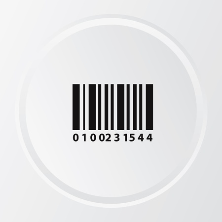 isolation: Bar code symbol,vector Illustration