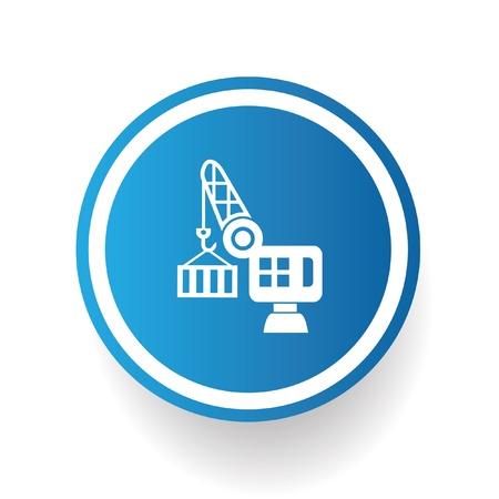Logistic symbol,vector Stock Vector - 21283456