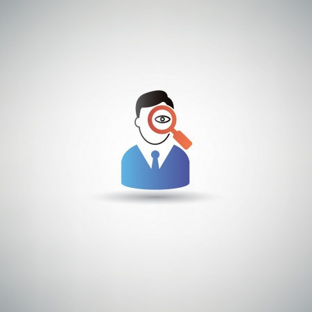 find staff: Human resource symbol,vector