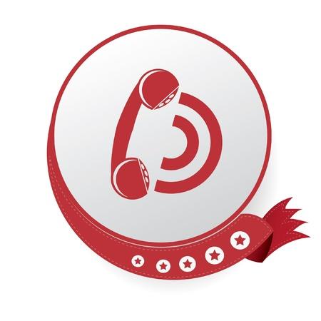 Telephone symbol,vector Stock Vector - 21395793