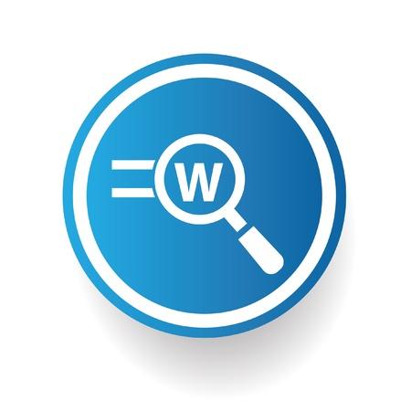 Search keyword symbol,vector Illustration