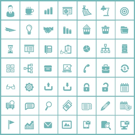 business bags: Office icons,vector Illustration