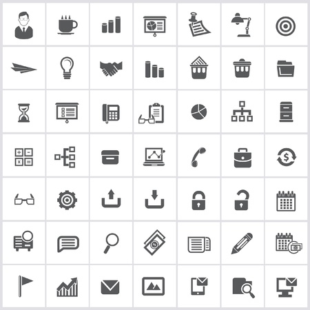 Office icons,vector Vector