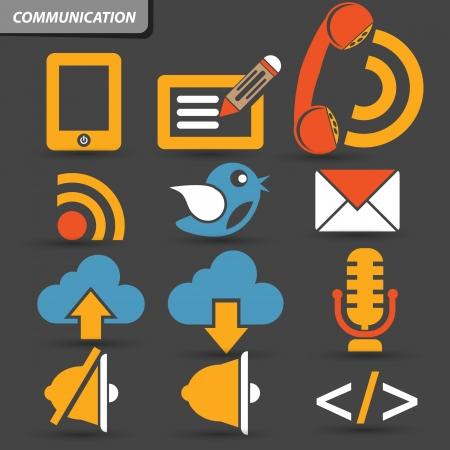 Communication symbol,vector Stock Vector - 21635500
