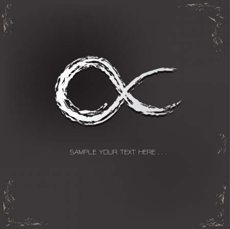 forever: Infinity symbol,vector