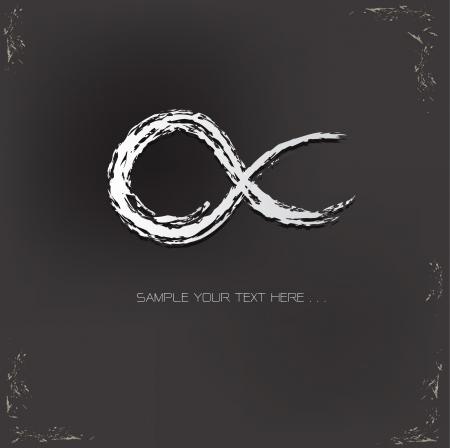 Infinity symbol,vector