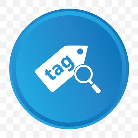 Tag symbol,vector Vector