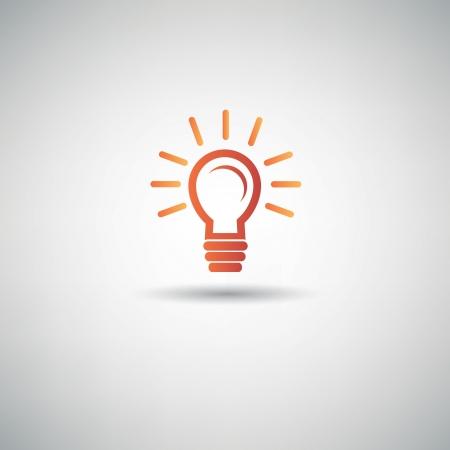 Light bulb symbol,vector Stock Vector - 21569653