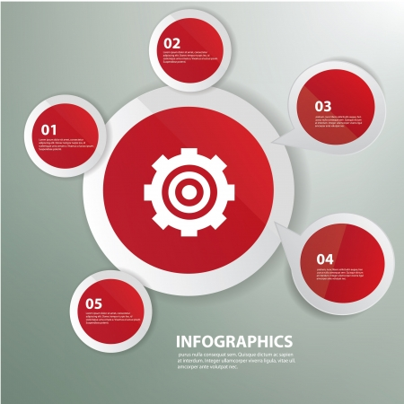 Gear,Red abstract,Graphics design,vector
