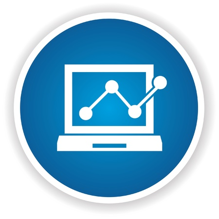 Computer analysis symbol,vector Stock Vector - 22098301
