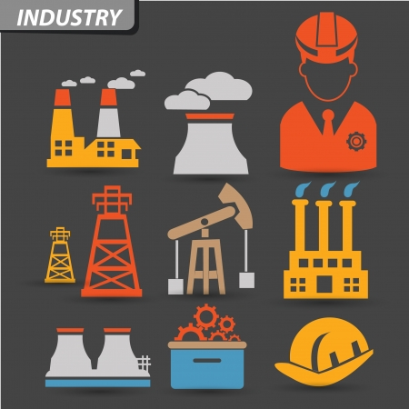 Industry symbol,vector Stock Vector - 22098354