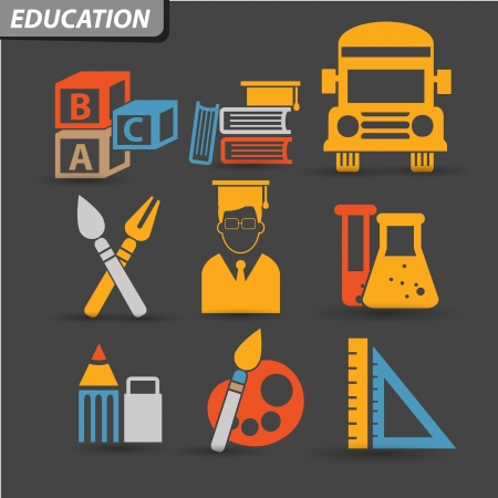 Education Icons,set 1,vector Vector