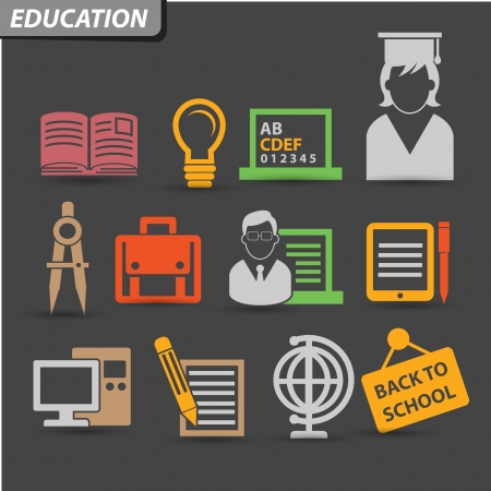 Education Icons,set 2,vector Vector