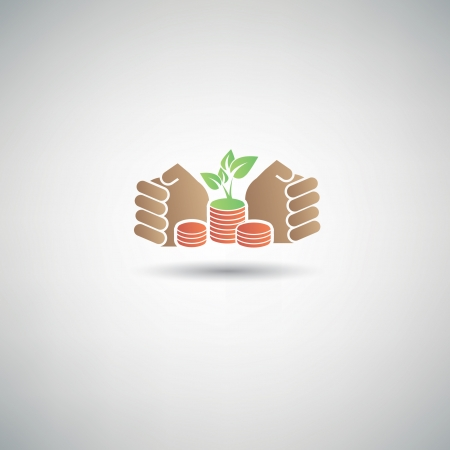 Save money symbol Vector