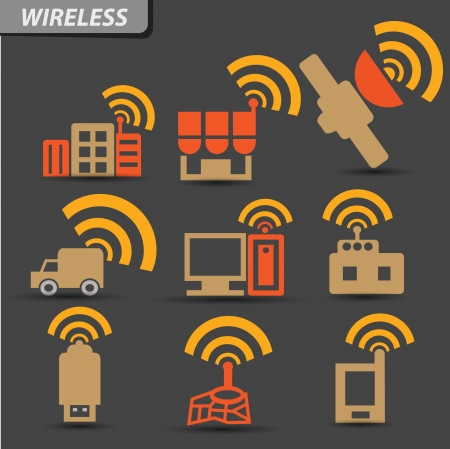 sattelite: Wireless symbol