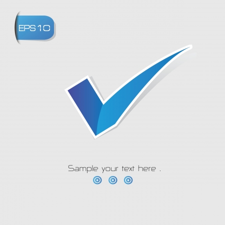 True symbol,vector Stock Vector - 22658454