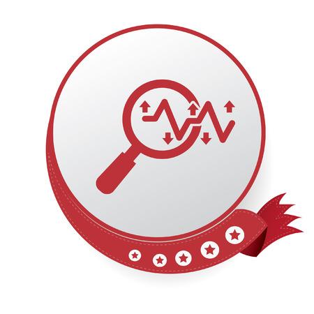 marktforschung: Marktforschung, Analyse Symbol Illustration