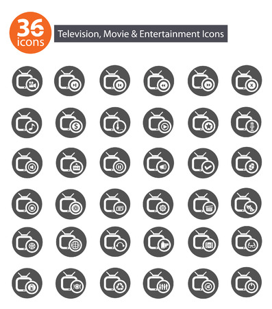 Application icons with Gray version  Vector