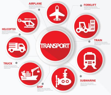 mini loader: Transport and logistics concept,Red version