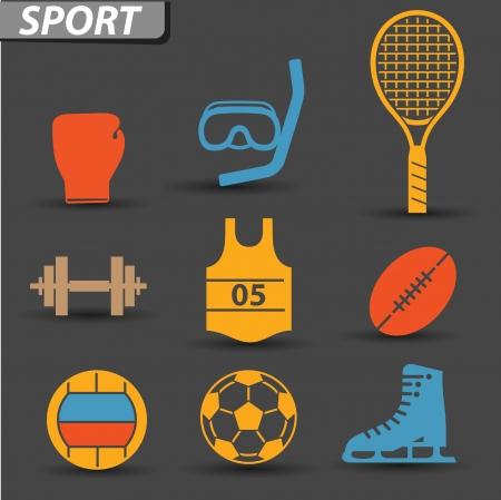 Sport icons,vector Vector