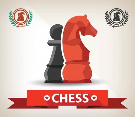 caballo de ajedrez: S�mbolo de Ajedrez, Vector