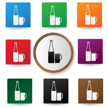 Drinks symbol,vector  Vector