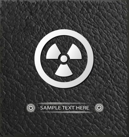 vector nuclear: Nuclear symbol,vector