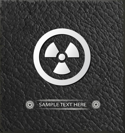 Nuclear symbol,vector Stock Vector - 25689313