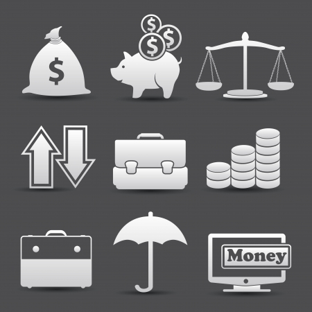 Finance icons,vector Vector