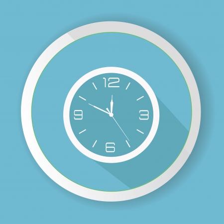 metering: Clock symbol,vector Illustration