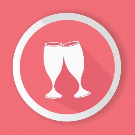 Drinking symbol,vector Vector