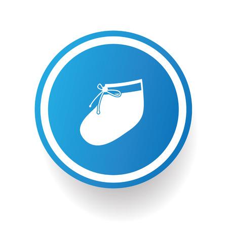 babes: Sock symbol,vector