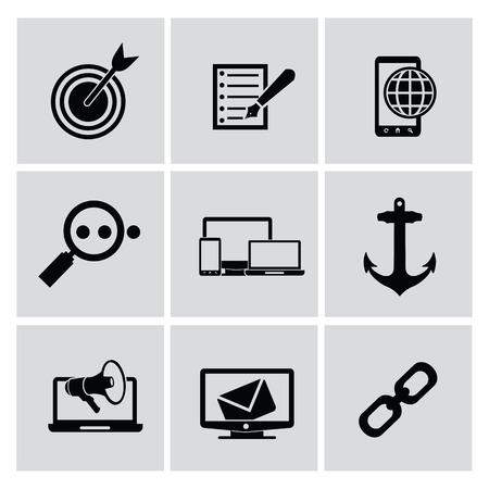 Website icons,vector Vector