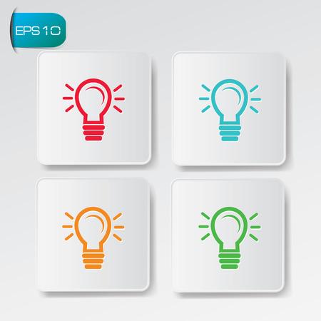 Ideas buttons