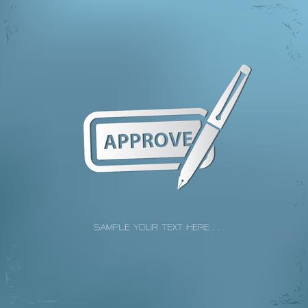 approve: Approve symbol