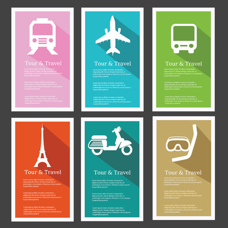 Tour   travel Banners Vector