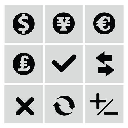 Finance icons,vector Vector