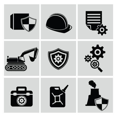 iconos energ�a: Iconos de la energ�a, vector