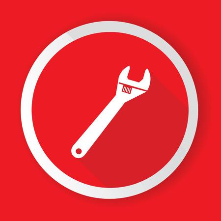 Repair button illustration