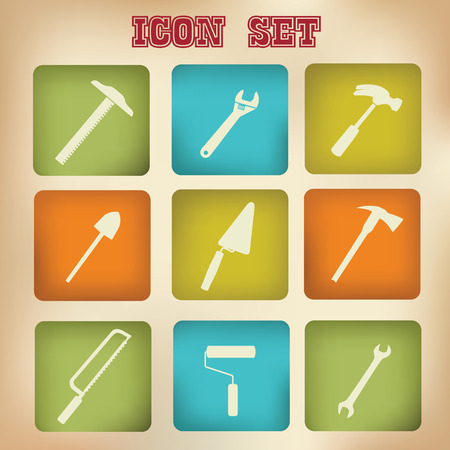 pincers: Tools icons,vector Illustration