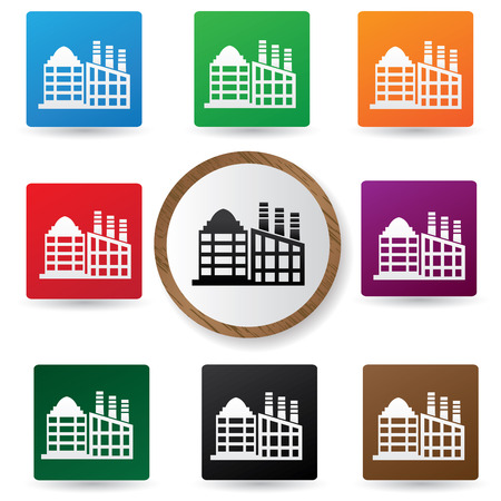 Building buttons Vector