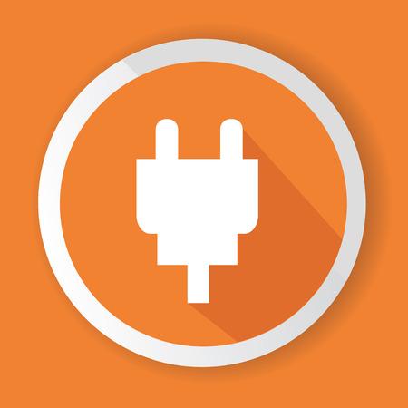 Plug symbol,vector
